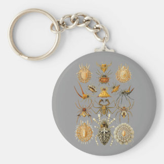 Siders Basic Round Button Key Ring