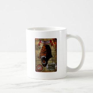 Sideshow Banner with Man Eating Gorilla Basic White Mug
