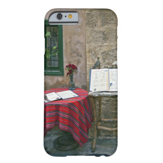 Sidewalk cafe, Chania, Crete, Greece Barely There iPhone 6 Case