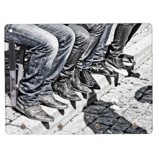 Sidewalk shoes Dry-Erase board