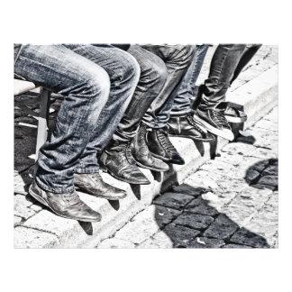 Sidewalk shoes personalized flyer