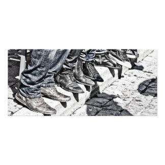 Sidewalk shoes custom rack cards