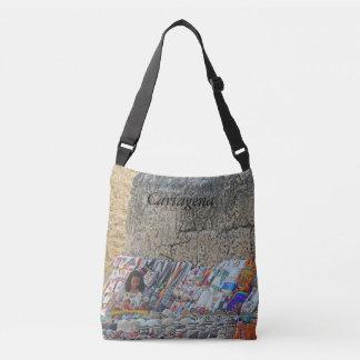 Sidewalk Vendor-Bags n Hats Crossbody Bag