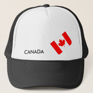 Sideways Canada Trucker Hat
