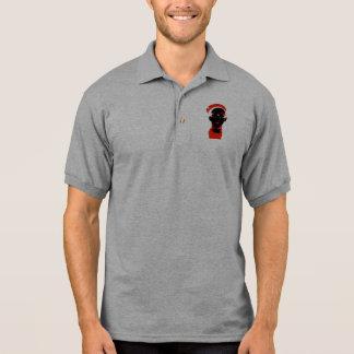 Sideways Hat Polo T-shirt