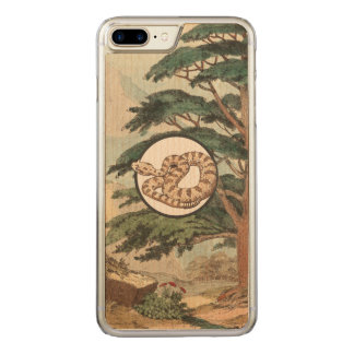 Sidewinder In Natural Habitat Illustration Carved iPhone 8 Plus/7 Plus Case