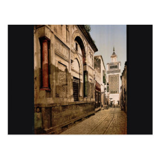 Sidi-Ben-Ziad, Tunis, Tunisia classic Photochrom Postcard