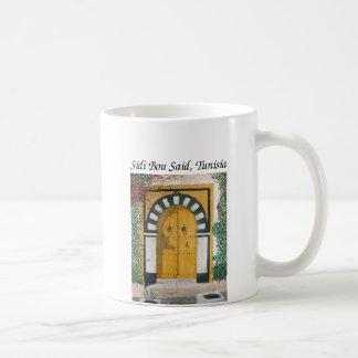 Sidi Bou Said, Tunisia Coffee Mug