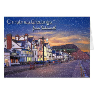 Sidmouth Christmas Card