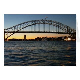 sidney bridge card