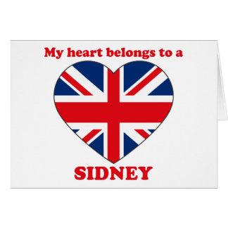 Sidney Greeting Card