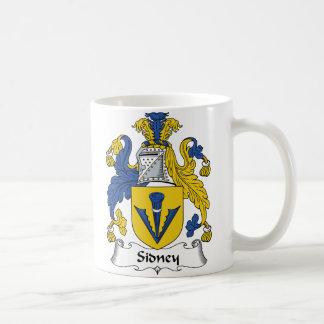 Sidney Family Crest Coffee Mug