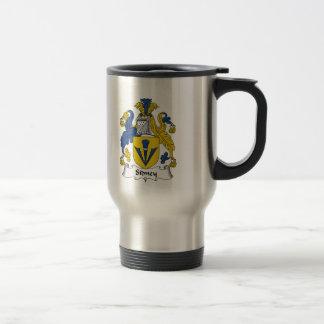 Sidney Family Crest Travel Mug