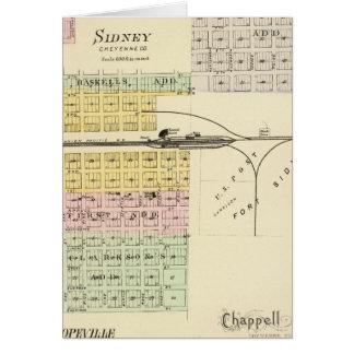 Sidney, Nebraska Greeting Card