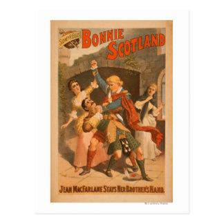 Sidney R. Ellis' Bonnie Scotland Scottish Play 2 Postcard