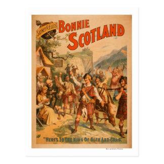 Sidney R. Ellis' Bonnie Scotland Scottish Play 3 Postcard