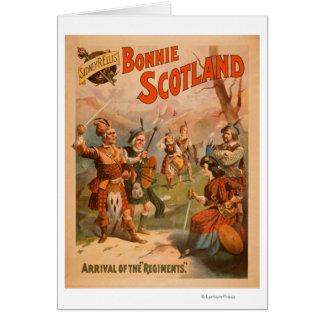 Sidney R. Ellis' Bonnie Scotland Scottish Play 4 Greeting Card