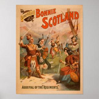 Sidney R. Ellis' Bonnie Scotland Scottish Play 4 Poster