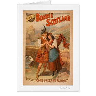 Sidney R. Ellis' Bonnie Scotland Scottish Play Greeting Card