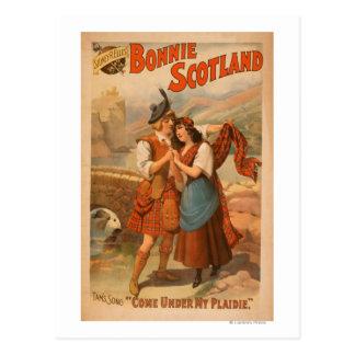 Sidney R. Ellis' Bonnie Scotland Scottish Play Postcard