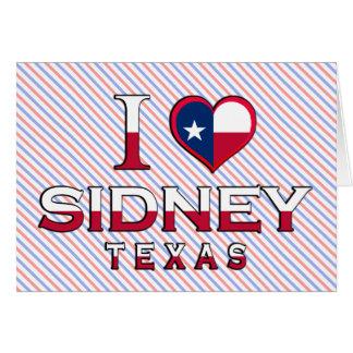 Sidney, Texas Cards