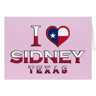 Sidney, Texas Greeting Cards
