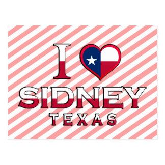 Sidney, Texas Postcard