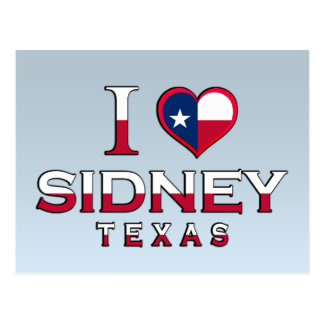 Sidney Texas Post Cards