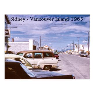 Sidney Vancouver Island Postcard