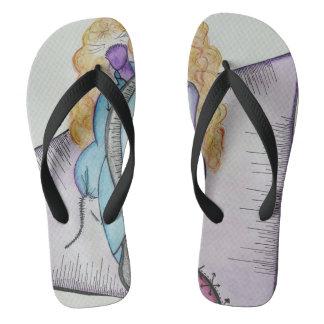 SieCel Fashion Girl Flip Flops