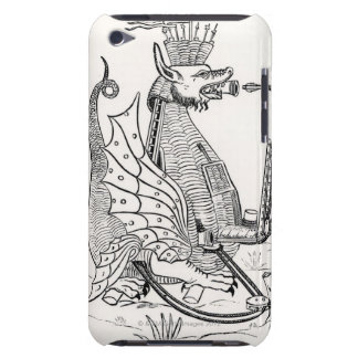 Siege engine in shape of a dragon iPod Case-Mate case