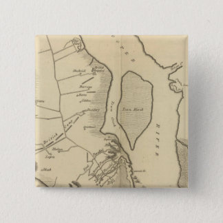 Siege of Charleston in S Carolina 15 Cm Square Badge