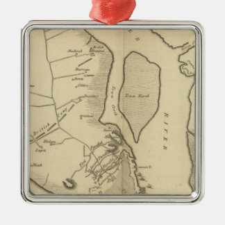 Siege of Charleston in S Carolina Christmas Ornament
