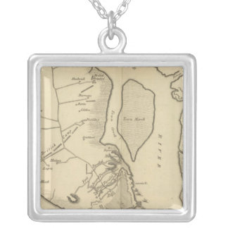 Siege of Charleston in S Carolina Silver Plated Necklace