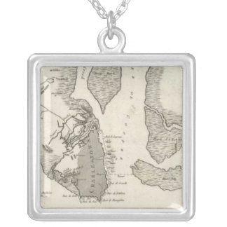 Siege of Charleston Silver Plated Necklace