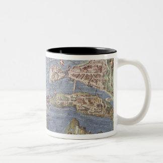 Siege of Malta Two-Tone Coffee Mug