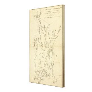 Siege of Newport, Rhode Island Canvas Print