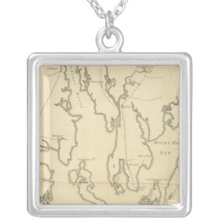 Siege of Newport, Rhode Island Silver Plated Necklace