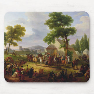 Siege of Paris by Henri IV  in 1593, 1818 Mouse Pad