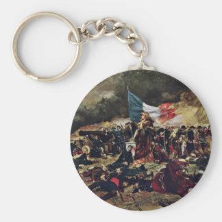 Siege Of Paris, Le Siège Paris En 1870 Keychains
