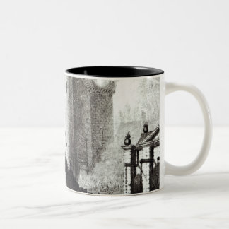 Siege of the Bastille, 14th July 1789 Two-Tone Coffee Mug
