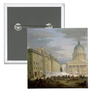 Siege of the Pantheon, 24th June 1848 15 Cm Square Badge