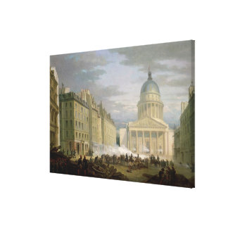 Siege of the Pantheon, 24th June 1848 Canvas Print