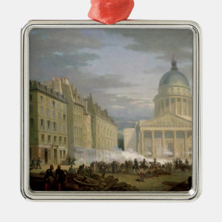 Siege of the Pantheon, 24th June 1848 Christmas Ornament