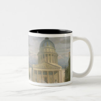 Siege of the Pantheon, 24th June 1848 Two-Tone Coffee Mug