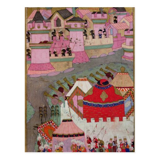 Siege of Vienna by Suleyman I  the Magnificent Post Card