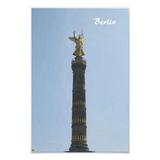 Siegessaule Berlin Art Photo