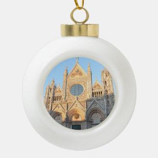 Siena Italy Ceramic Ball Decoration