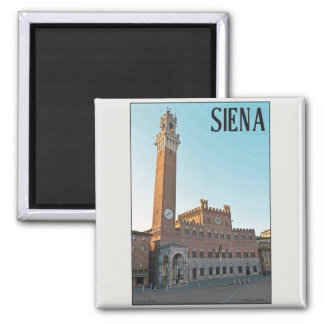 Siena - Palazzo Pubblico Morning Magnet