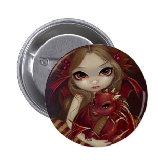 """Sienna Dragonling"" Button"